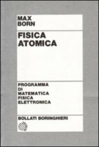 Libro Fisica atomica Max Born