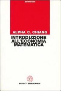 Introduzione all'economia matematica