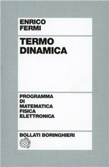 Termodinamica - Enrico Fermi - copertina