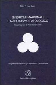 Libro Sindromi marginali e narcisismo patologico Otto F. Kernberg