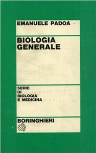 Libro Biologia generale Emanuele Padoa