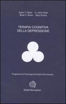 Terapia cognitiva della depressione - Aaron T. Beck - copertina