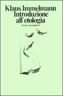 Antondemarirreguera.es Introduzione all'etologia Image