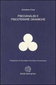 Libro Psicoanalisi e psicoterapie dinamiche Giordano Fossi