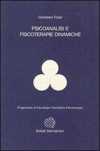 Psicoanalisi e psicoterapie dinamiche