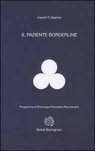 Libro Il paziente borderline Harold F. Searles