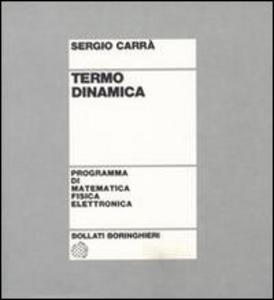 Libro Termo dinamica Stefano Carrà