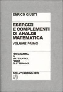Libro Esercizi e complementi di analisi matematica. Vol. 1 Enrico Giusti