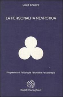 La personalità nevrotica - David Shapiro - copertina