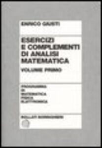Libro Esercizi e complementi di analisi matematica. Vol. 2 Enrico Giusti
