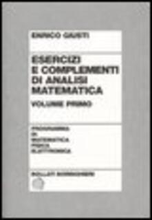Lpgcsostenible.es Esercizi e complementi di analisi matematica. Vol. 2 Image