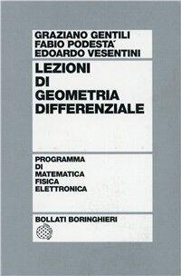 Lezioni di geometria differenziale