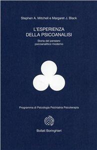 Libro L' esperienza della psicoanalisi. Storia del pensiero psicoanalitico moderno Stephen A. Mitchell , Margaret Black