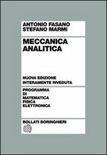 Meccanica analitica - Antonio Fasano,Stefano Marmi - copertina