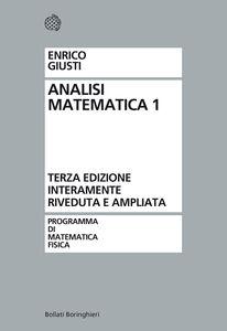 Libro Analisi matematica. Vol. 1 Enrico Giusti