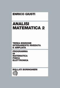 Libro Analisi matematica. Vol. 2 Enrico Giusti