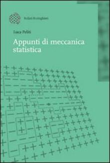 Appunti di meccanica statistica - Luca Peliti - copertina