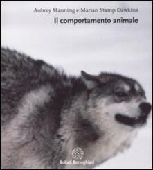 Il comportamento animale - Aubrey Manning,Marian S. Dawkins - copertina