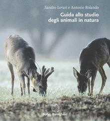 Guida allo studio degli animali in natura.pdf