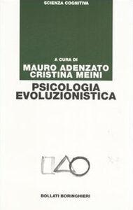 Libro Psicologia evoluzionistica