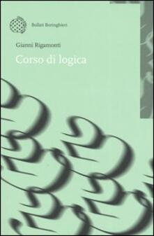 Corso di logica - Gianni Rigamonti - copertina