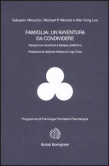 Equilibrifestival.it Famiglia: un'avventura da condividere. Valutazione familiare e terapia sistemica Image
