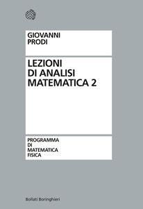 Libro Lezioni di analisi matematica. Vol. 2 Giovanni Prodi