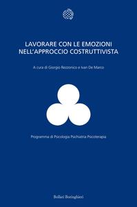 Libro Lavorare con le emozioni nell'approccio costruttivista