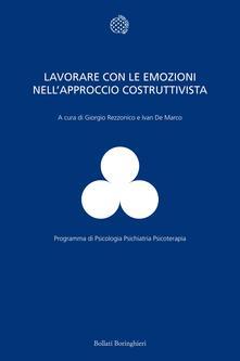 Lavorare con le emozioni nell'approccio costruttivista - copertina