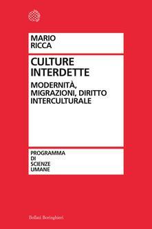Camfeed.it Culture interdette. Modernità, migrazioni, diritto interculturale Image