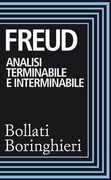 Analisi terminabile e interminabile - Sigmund Freud,Renata Colorni - ebook