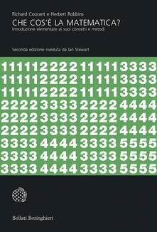 Che cos'è la matematica? Introduzione elementare ai suoi concetti e metodi - Ian Nicholas Stewart,Liliana Ragusa Gilli,Richard Courant,Herbert Robbins - ebook