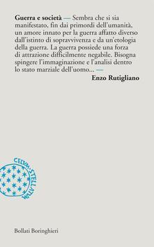 Guerra e società - Enzo Rutigliano - ebook