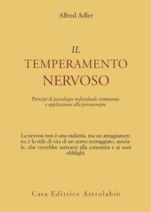 Libro Il temperamento nervoso Alfred Adler