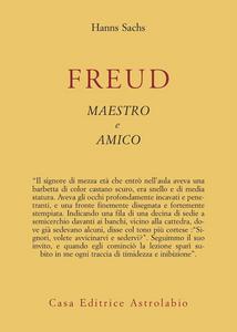 Libro Freud, maestro e amico Hanns Sachs