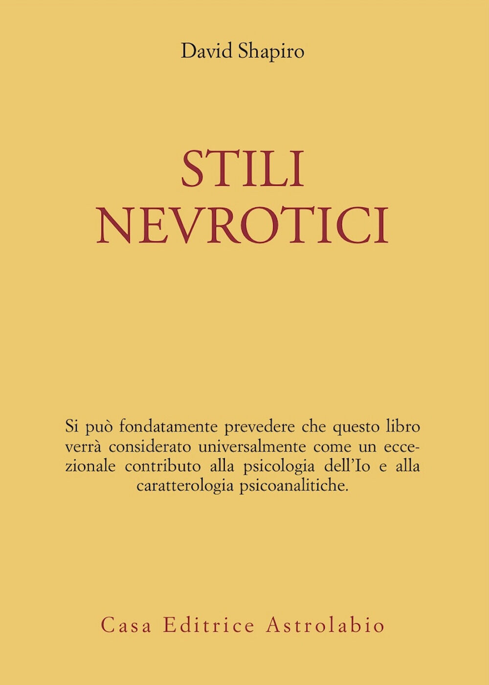 Stili nevrotici
