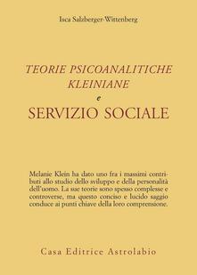 Teorie psicoanalitiche kleiniane e servizio sociale.pdf