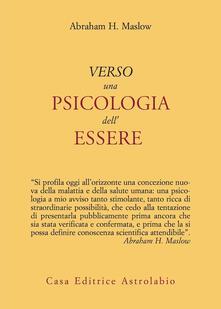 Verso una psicologia dell'essere - Abraham H. Maslow - copertina