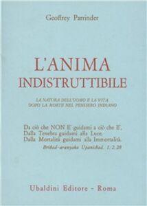 Libro L' Anima indistruttibile Geoffrey Parrinder