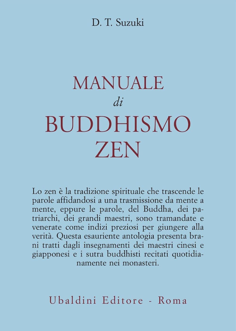 Manuale di buddhismo zen