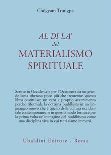 Al di là del materialismo spirituale - Chögyam Trungpa - copertina