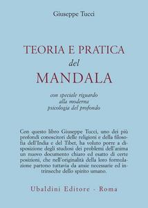 Libro Teoria e pratica dei Mandala Giuseppe Tucci