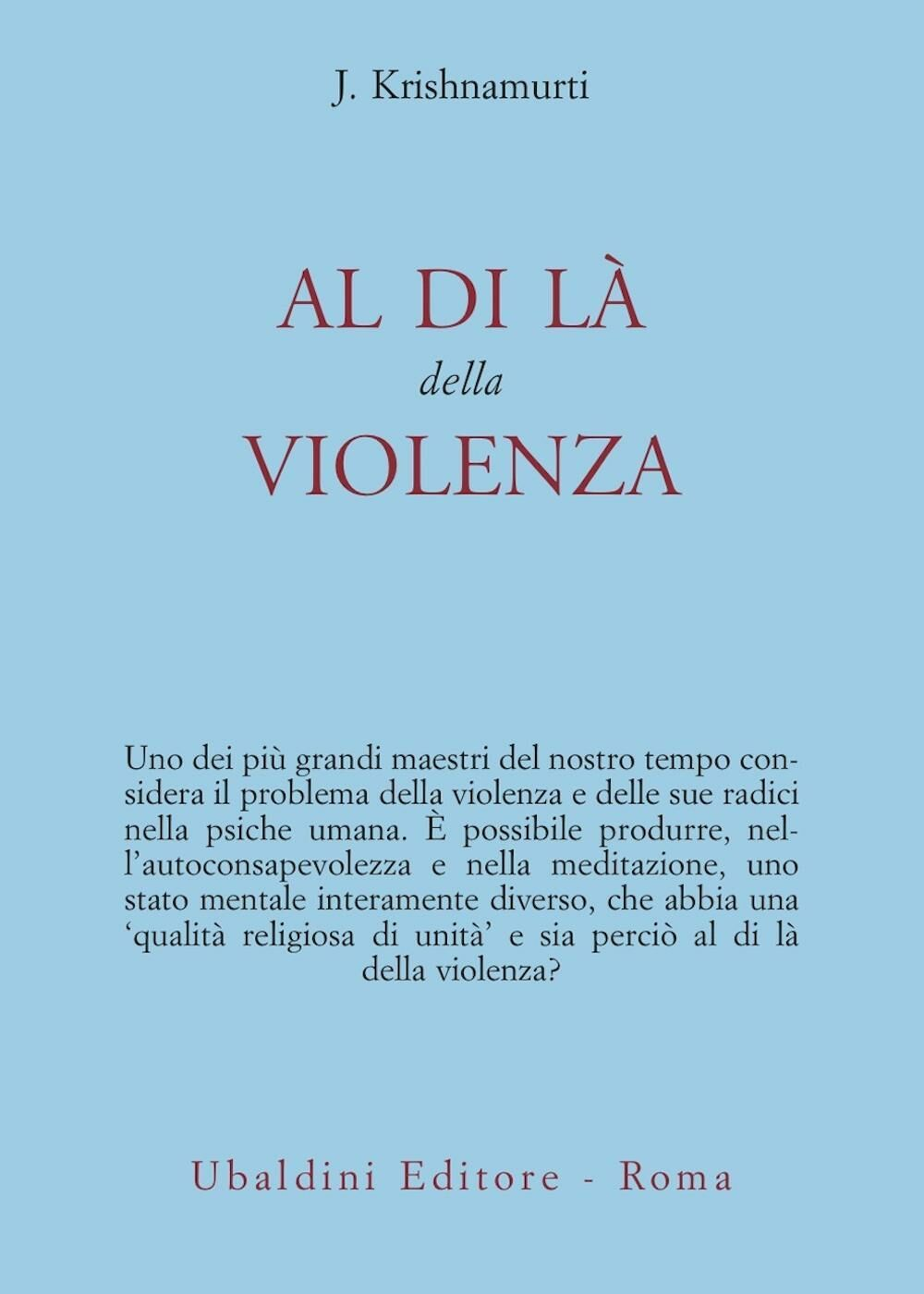 Al di là della violenza
