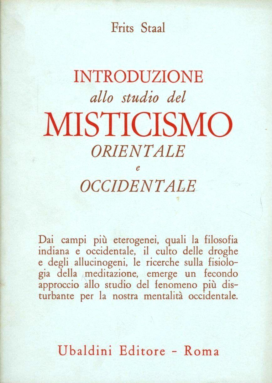 Introduzione allo studio del misticismo orientale e occidentale