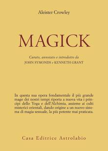 Magick - Aleister Crowley - copertina