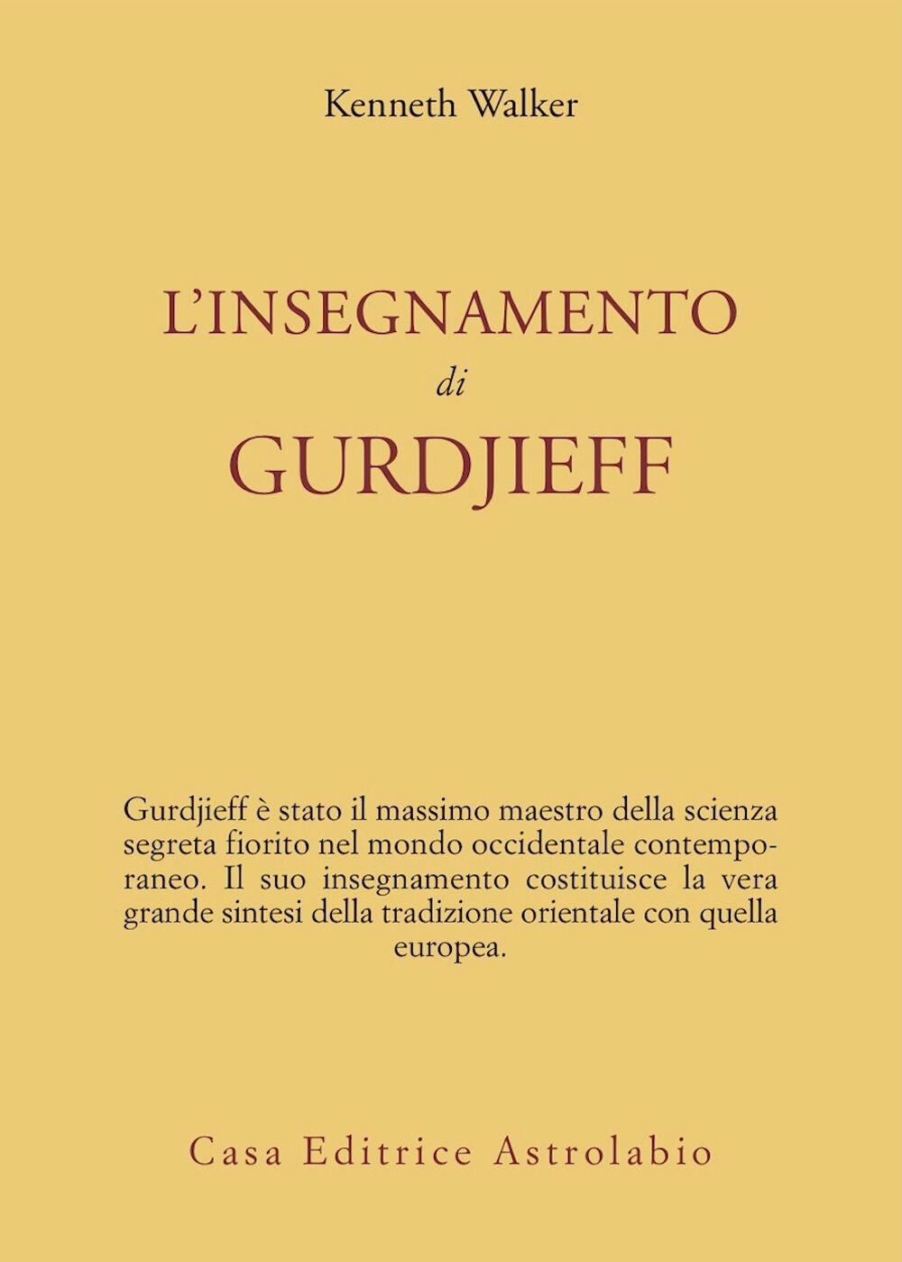 L' insegnamento di Gurdjieff
