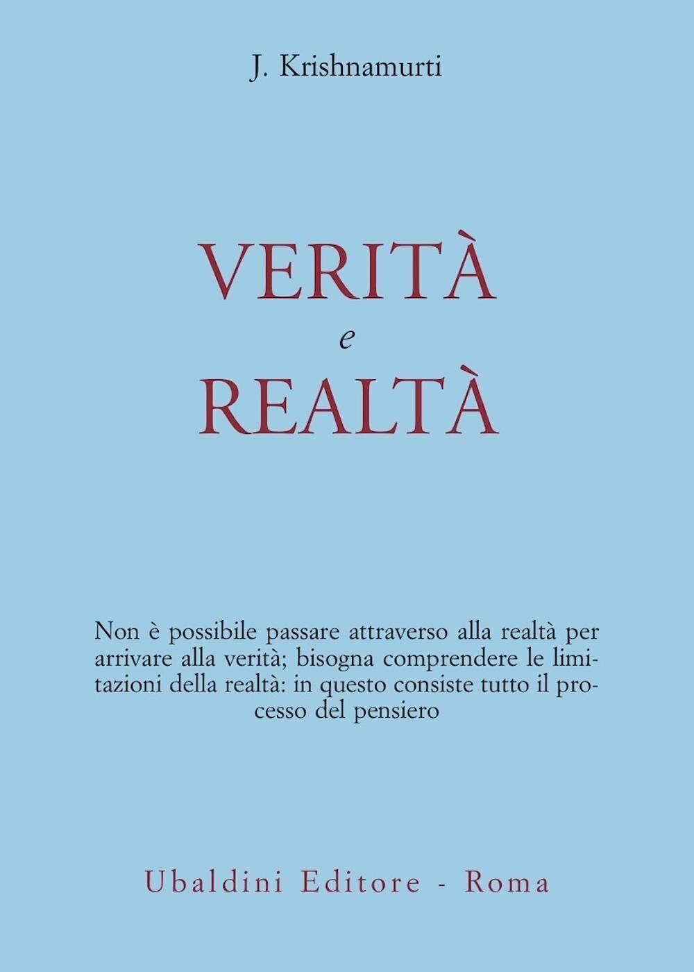 Verità e realtà