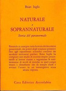 Naturale e soprannaturale. Storia del paranormale