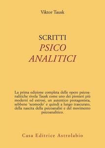 Libro Scritti psicoanalitici Viktor Tausk