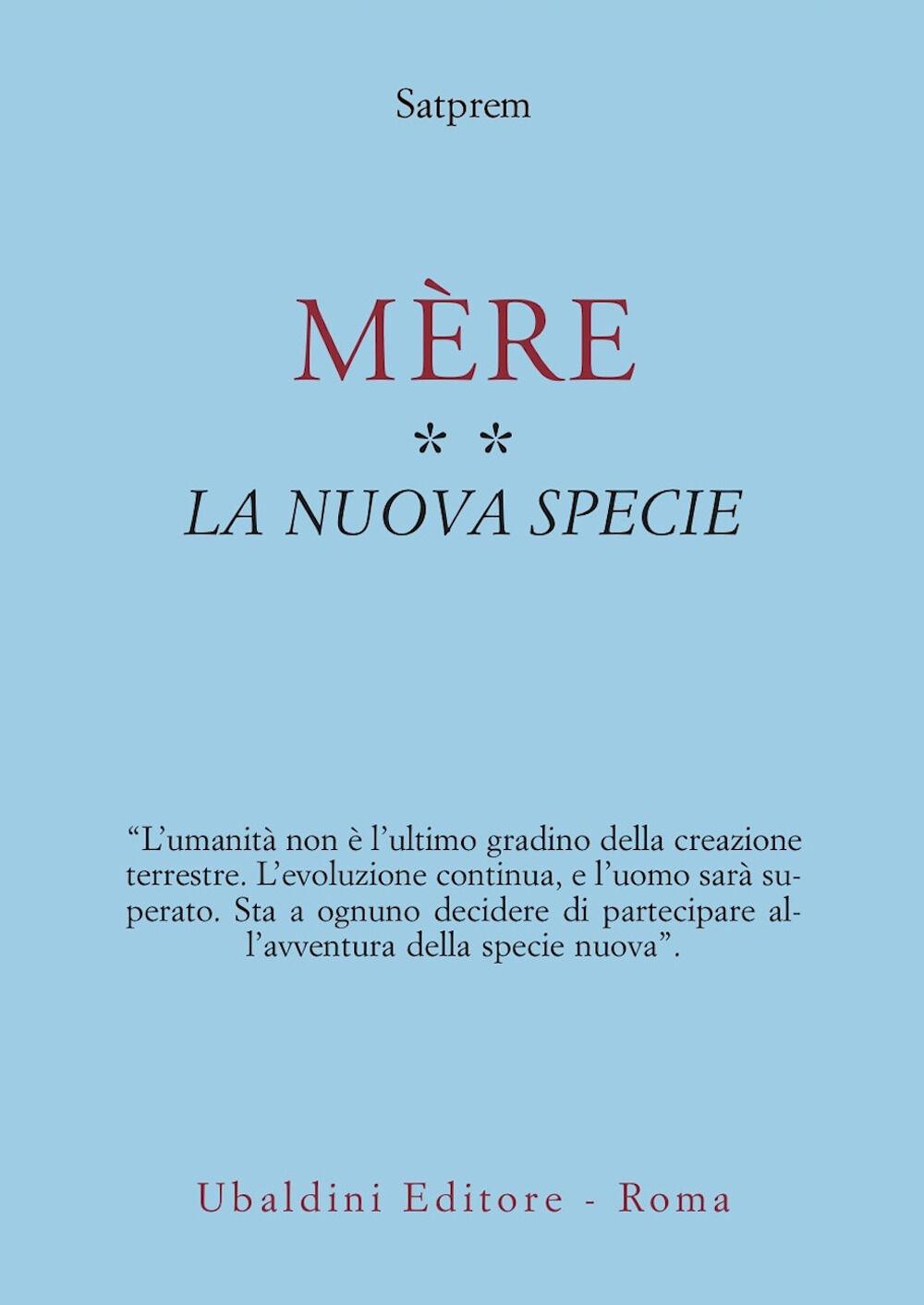 Mère. Vol. 2: La nuova specie.